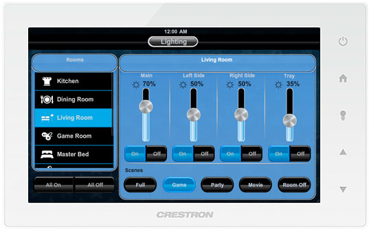 Crestron Lighting Controls  sc 1 st  Global Home Automation : creston lighting - azcodes.com