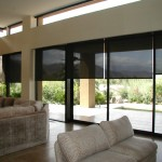 Motorized Sun Screen Roller Shades