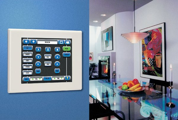 Security Automation Built In To Wall Integrated By Global